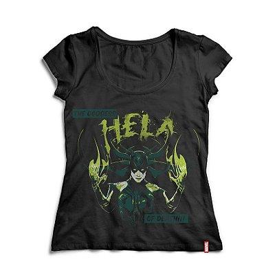 Camiseta Feminina Marvel Hela