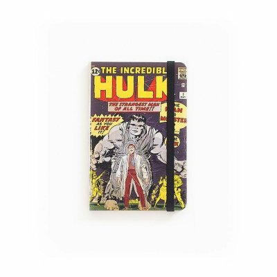 Caderno de Notas Pocket The Incredible Hulk #01 Marvel (Pequeno)