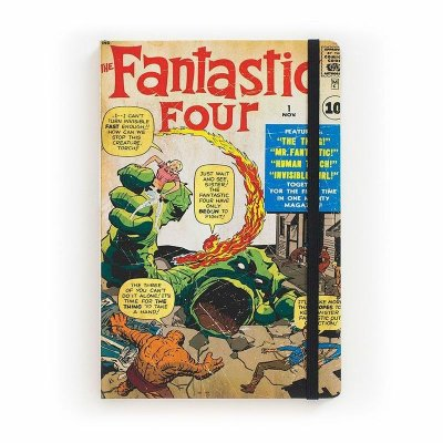 Caderno de Notas Fantastic Four #01 Marvel