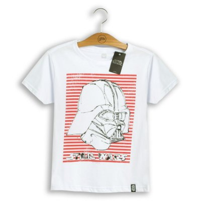 Camiseta Feminina Star Wars Vader Stripes