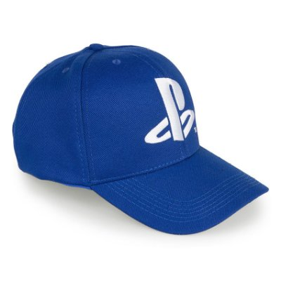 Boné Playstation Logo Azul