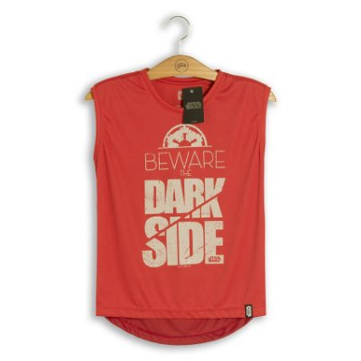 Camiseta Feminina Dry Fit Star Wars Beware The Dark Side