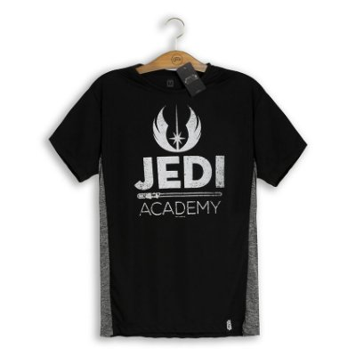 Camiseta Dry Fit Star Wars Jedi Academy