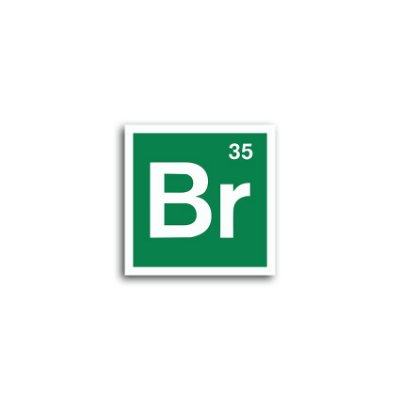 Placa Breaking Bad Bromo