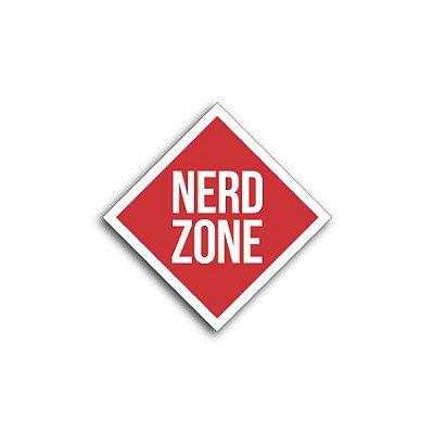 Placa Nerd Zone