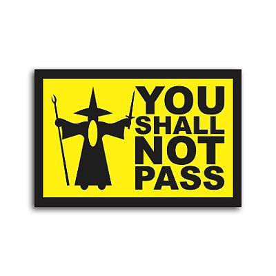 Capacho Gandalf You Shall Not Pass
