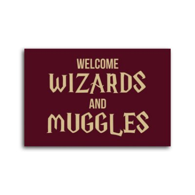 Capacho Wizards And Muggles