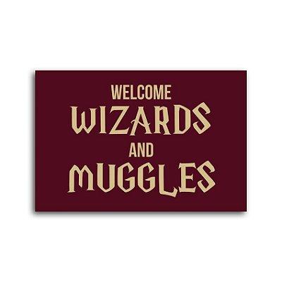Capacho Wizards And Muggles