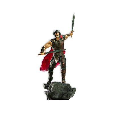 Estátua Thor Ragnarok - Thor Gladiador