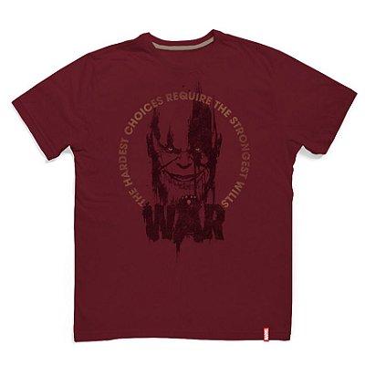Camiseta Marvel Guerra Infinita Thanos