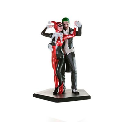Harley Quinn e The Joker Suicide Squad Art Scale 1/10