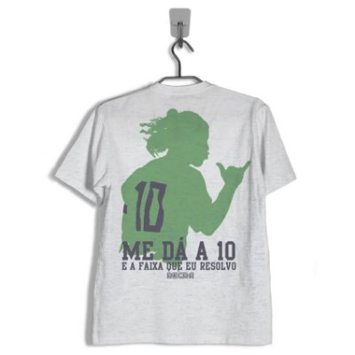 Camiseta Regra 10 e a Faixa