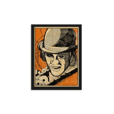 Quadro Clockwork Orange - 20x30cm