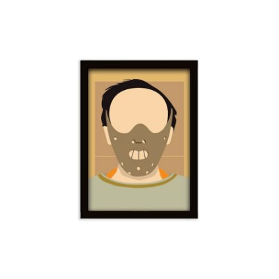 Quadro Hannibal Lecter - 20x30cm