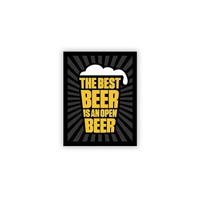 Placa Best Beer