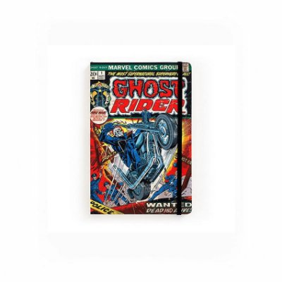 Caderno de Notas Pocket Ghost Rider #01 Marvel (Pequeno)