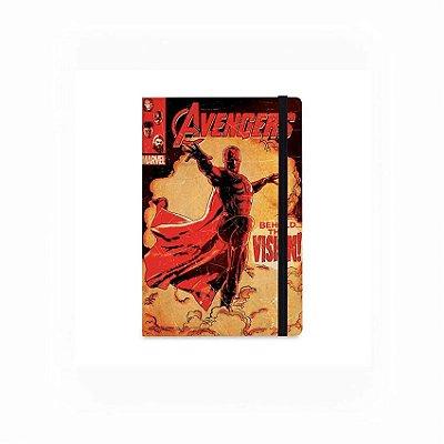 Caderno de Notas Pocket Visão Vingadores Marvel (Pequeno)