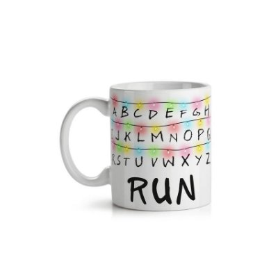Caneca Stranger Things Run