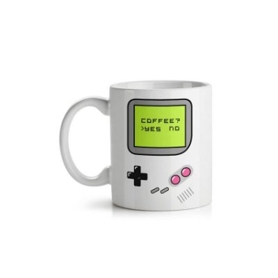 Caneca Game Boy Coffee