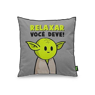 Almofada Relaxar Você Deve