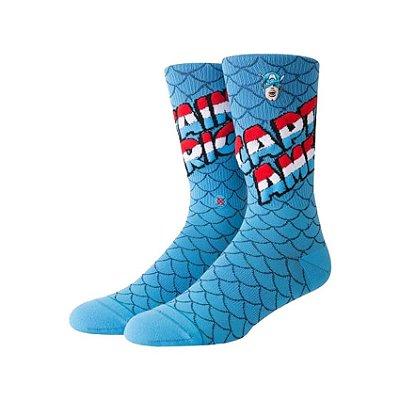 Meia Stance Marvel Captain America