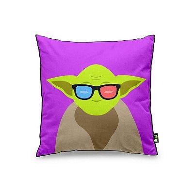 Almofada Lado Geek Yoda
