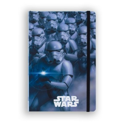 Caderno de Notas Stormtroopers Star Wars