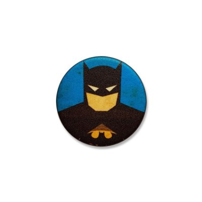 Botton Batman Face