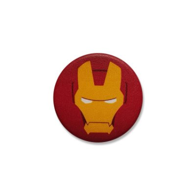 Botton Iron Man Face