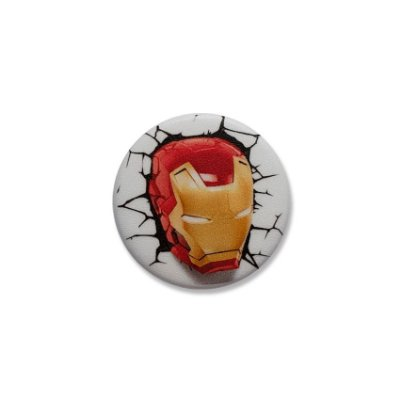 Botton Iron Man Wall