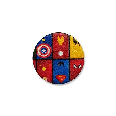 Botton Super Heróis