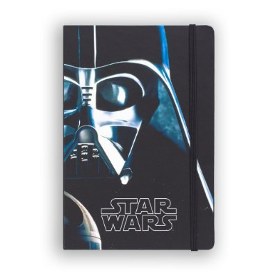 Caderno de Notas Vader Face Star Wars