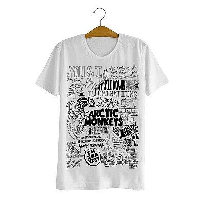 Camiseta Arctic Monkeys Lyrics
