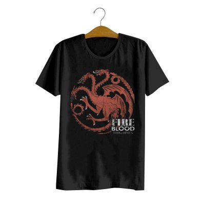 Camiseta Game Of Thrones Targaryen Logo