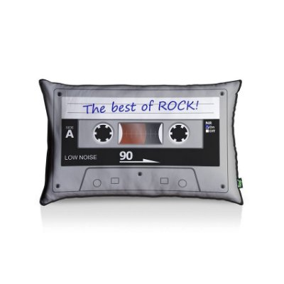 Almofada Fita Cassete The Best Of Rock
