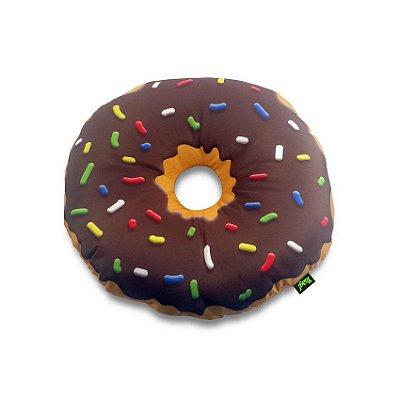 Almofada Rosquinha Donut Chocolate