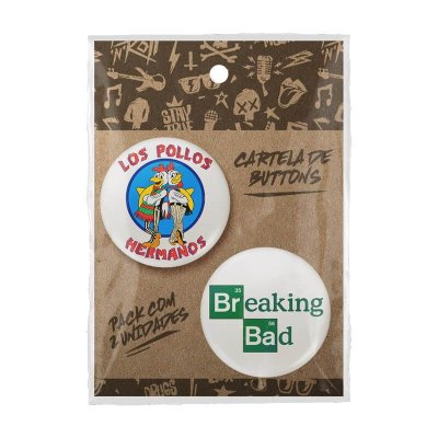 Pack Bottons Los Pollos Hermanos