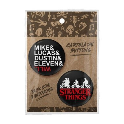Pack Bottons Stranger Things