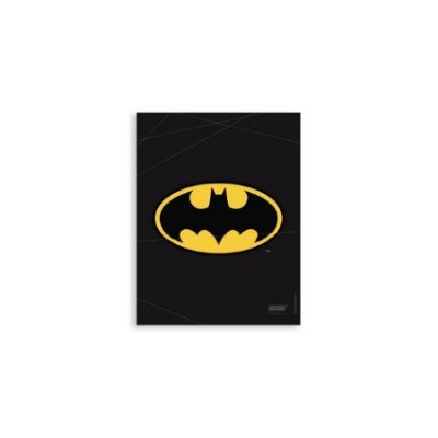 Placa Logo Batman