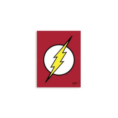 Placa Logo Flash