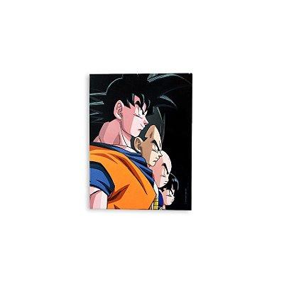 Placa Dragon Ball Guerreiros Z