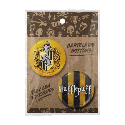 Pack Bottons Harry Potter Lufa-Lufa