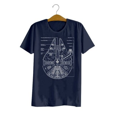 Camiseta Millennium Falcon Project