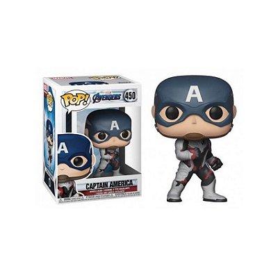 Capitão América - Avengers: Endgame - Pop! Funko
