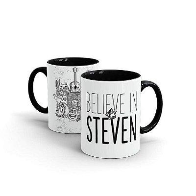 Caneca Steven Universo Believe In Steven