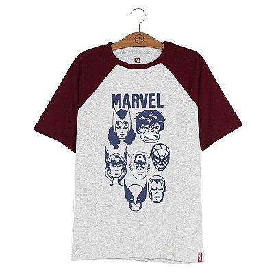 Camiseta Vingadores Retro
