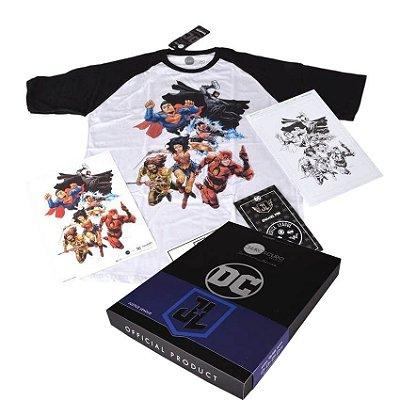 Box Liga da Justiça - Chiaroscuro Signature Series