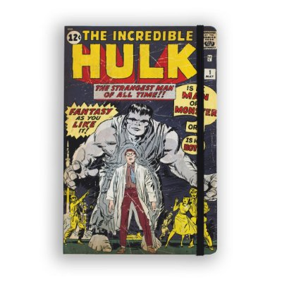 Caderno de Notas The Incredible Hulk #01 Marvel
