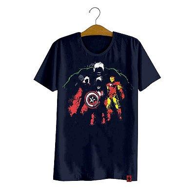 Camiseta Avengers Heroes