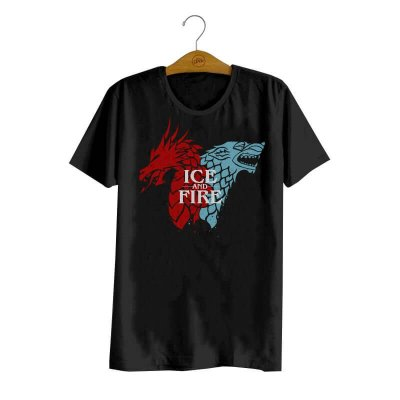 Camiseta Ice and Fire